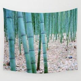 The Bamboo Grove, Arashiyama, Kyoto Wall Tapestry