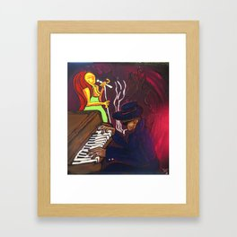 Gumbo night 18 Framed Art Print