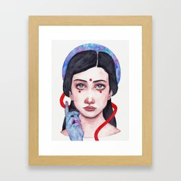 this calling Framed Art Print