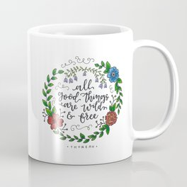 All Good Things Coffee Mug