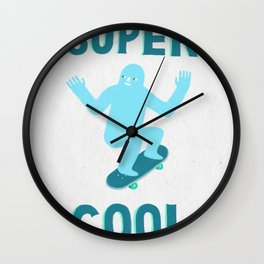 Super Cool Wall Clock
