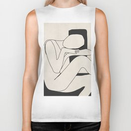 Abstract Art 15 Biker Tank