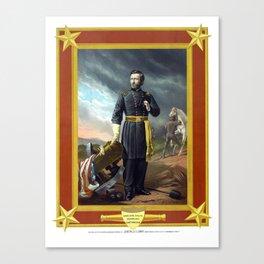 General Grant -- Civil War Canvas Print