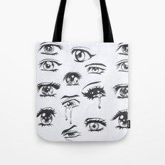 anime eyes Tote Bag