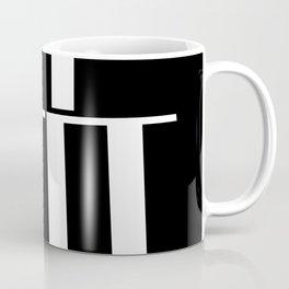 Anxiety Rectangles 1 #minimalism #abstract #geometry #society6 Coffee Mug