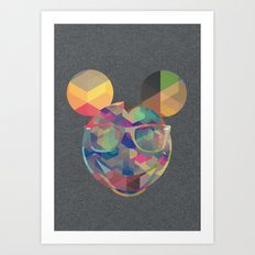 Cool Mickey Art Print