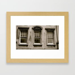 Bridge St. Framed Art Print
