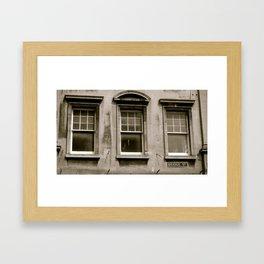 Bridge St. Framed Art Print