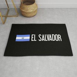 El Salvadoran Flag & El Salvador Rug