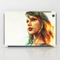 hair iPad Cases featuring When the Sun Came Up by Alice X. Zhang