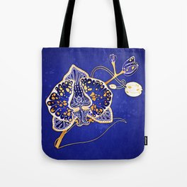 Egyptian Blue :: Orchid Tote Bag