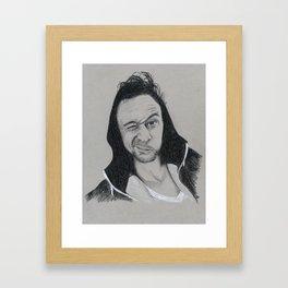 Tom Hiddleston: Wake Up Call Framed Art Print