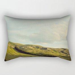 Never Be Seen Rectangular Pillow