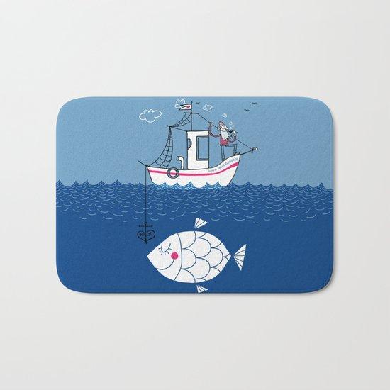 Love Boat Captain Bath Mat