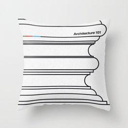 Architecture 101 Throw Pillow