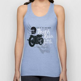 Rise of the Cafe Racer Unisex Tank Top