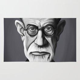 Sigmund Freud Rug