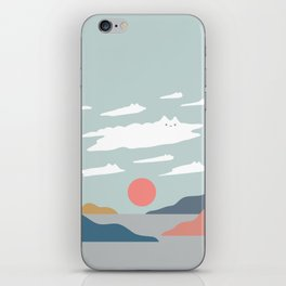 Cat Landscape 23 iPhone Skin