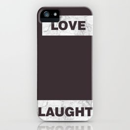 Love live laught iPhone Case