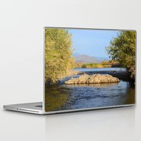 salt water Laptop & iPad Skins featuring Salt River Arizona by Jonathon Mackowiak