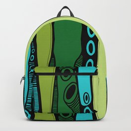 Green Dive-Plongeon vers-Stripes2 Backpack