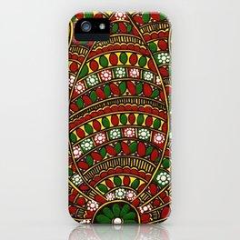 Madhubani Lotus iPhone Case