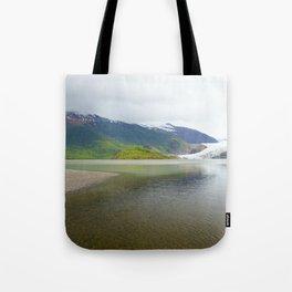 Mendenhall Glacier Juneau Alaska Tote Bag