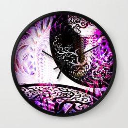Opposition - Purple - ILL Design - Roth Gagliano Wall Clock