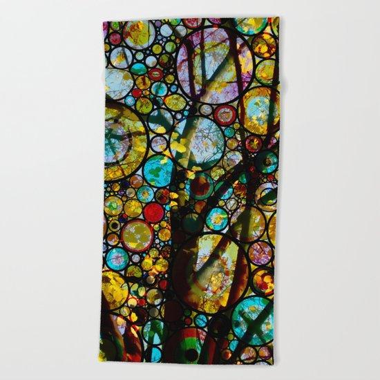 Fairy Tale Tree Beach Towel