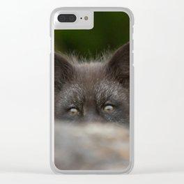 Peek-a-boo Clear iPhone Case