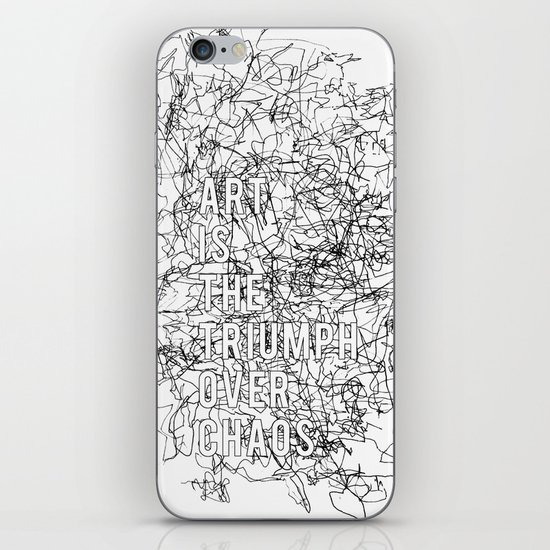 Triumph Over Chaos. iPhone Skin