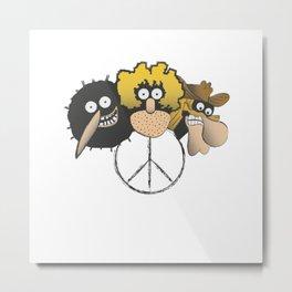 Freak Brothers Metal Print