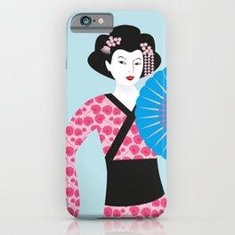 Geisha #2 iPhone Case