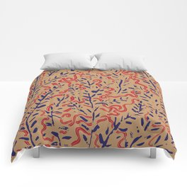 Indian Snakes Comforters