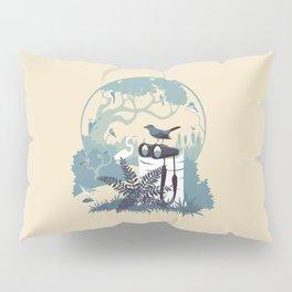 Birdwatcher (blues) Pillow Sham