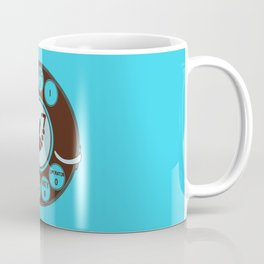 Dial numbers with analoque mobile Coffee Mug