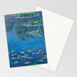 Claude Monet - Water Lilies 1906 Stationery Cards