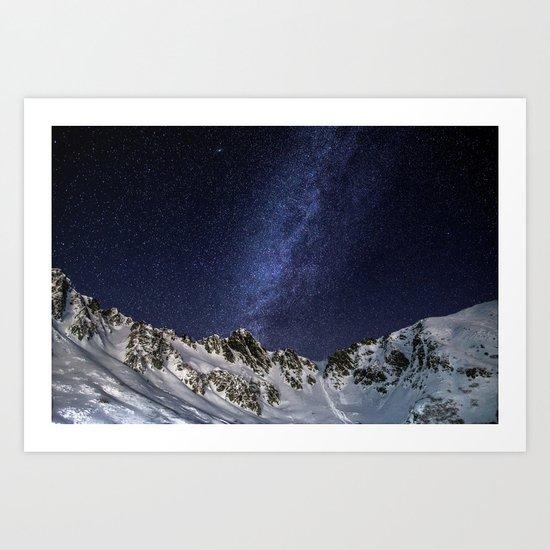 Milky Way II Art Print