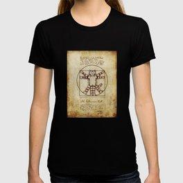 Vitruvian Cat T-shirt
