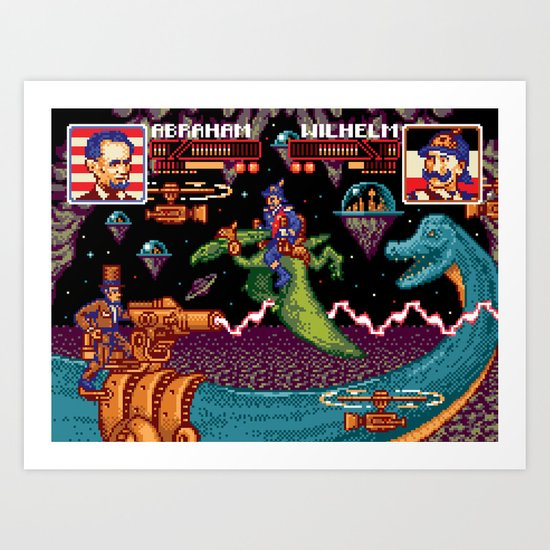 Jurassic President, Episode 16 – High Score and Seven Years Ago Art Print