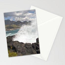WAVES BEACH - SICILY Stationery Cards
