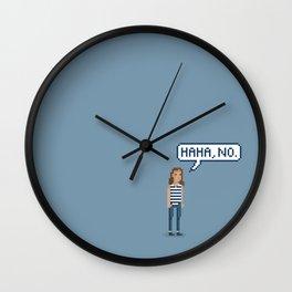 Haha no. Wall Clock