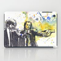pulp iPad Cases featuring Pulp Fiction by idillard