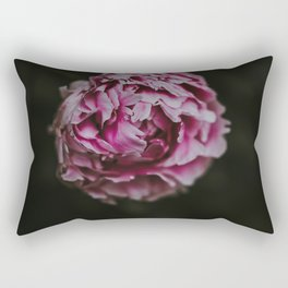 The Flower (Color) Rectangular Pillow