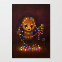 Tangled Mess (Forever Halloween Collection) Canvas Print
