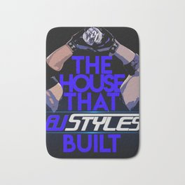SD Live! : The House That AJ Styles Built Bath Mat