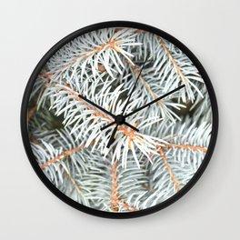 Tree | Trees | Silver Spruce | Ontario, Canada | Nadia Bonello Wall Clock