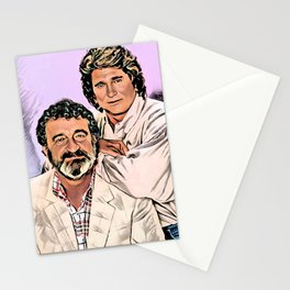 Michael Landon & Victor French Stationery Cards