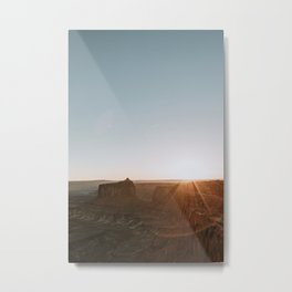 Sunset in Canyonlands National Park, Utah Metal Print