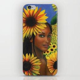 Summertime Sunflowers iPhone Skin
